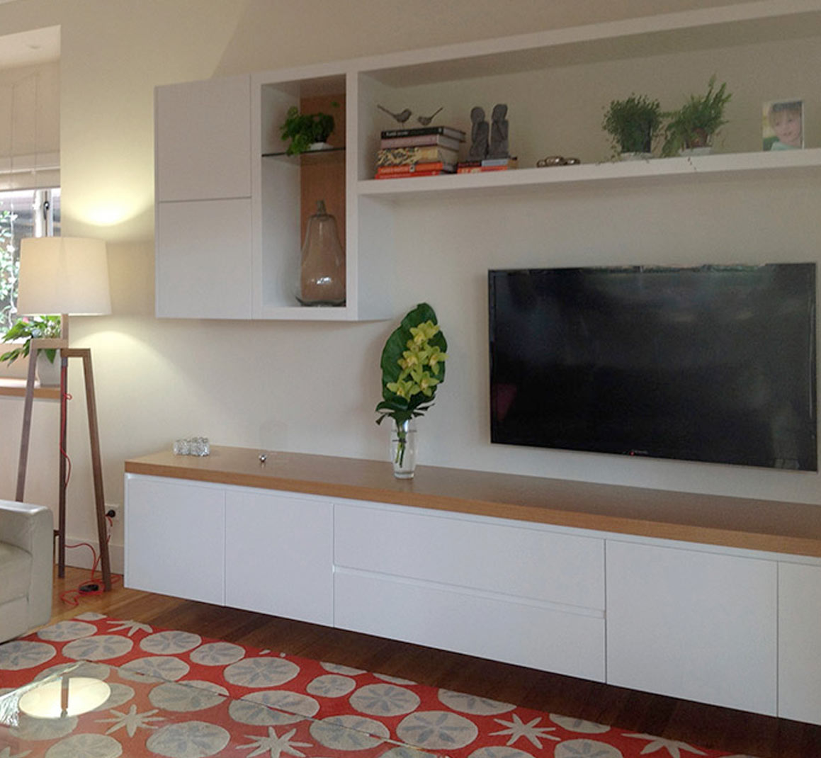 custom tv cabinets entertainment media wall units sydney australia 14389