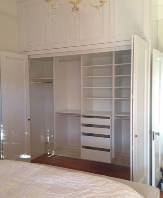 Wall Mounted Wardrobes